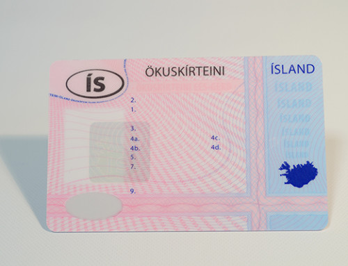Icelandic driving licence
