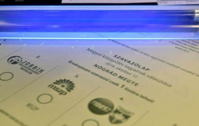 Választási nyomtatványok