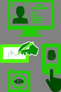Biometric passport production