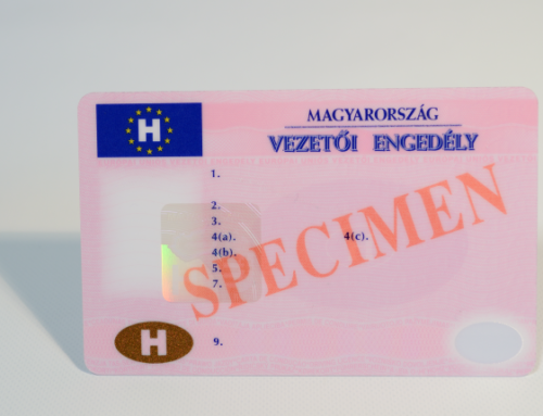 Hungarian driving licence