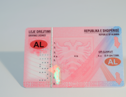 Albanian driving licence