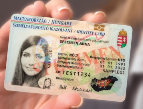 Hungarian electronic identity card