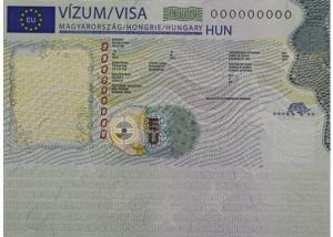 Schengeni magyar vízum