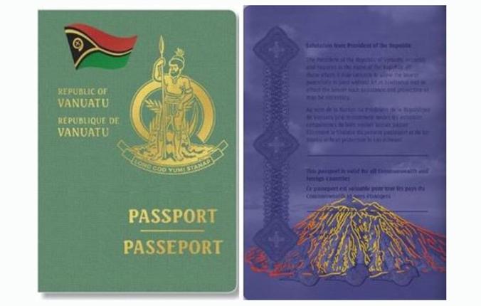 Passeport de Vanuatu