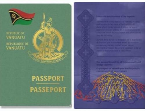 Vanuatui útlevél